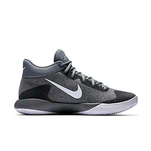 Nike KD Trey 5 V - 897638002 - Farbe: Weiß-Grau - Größe: 45.0