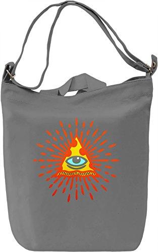 Food Pyramid Borsa Giornaliera Canvas Canvas Day Bag| 100% Premium Cotton Canvas| DTG Printing|
