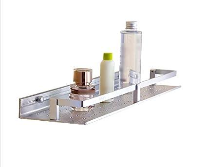 Mensole da bagno mensola the new drilling space in alluminio