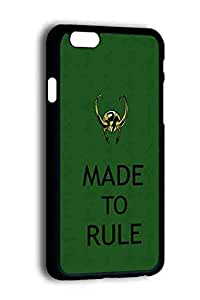 Designed By DunnDoCase For Iphone 6 4.7 Inch Case Hard Plastic Tom Hiddleston Loki Protective Cover Case