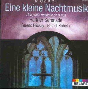 Mozart Eine kleine Nachtmusik-Haffner Serenade Berliner Philharmoniker-Bavarian Radio Symphony Orchestra Fricsay-Kubelik (1995-05-03)