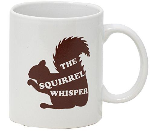 Graduation Guy - Funny Guy Mugs Squirrel Whisperer Coffee Mug, Ceramic, Brown, 11 Ounce