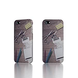 Apple iPhone 4 / 4S Case - The Best 3D Full Wrap iPhone Case - Back To Schoo Digital Art