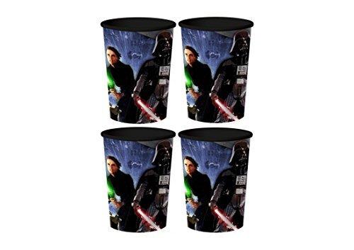 Star Wars Plastic Cups 4 Pack -