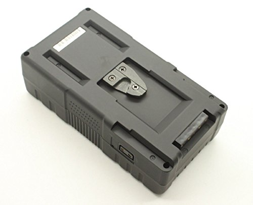 130Wh 14.8V Mount Li-ion Battery with Charger For BMCC BMPCC 1DC GH4 Sony F55 F5 by U-Power (Image #3)
