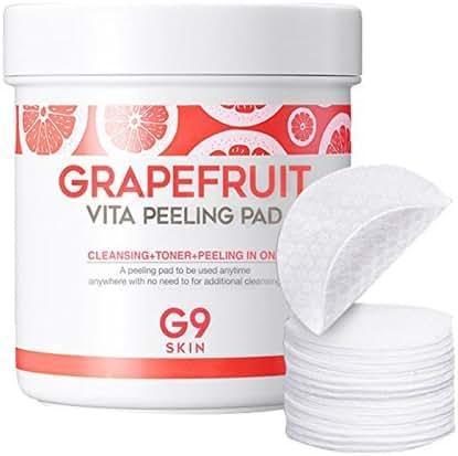 [G9SKIN] Grapefruit Vita Peeling Pad 200g (100pads) / Peel Gauze Peeling, Clear Pads, skin peeling pad, cleansing pad
