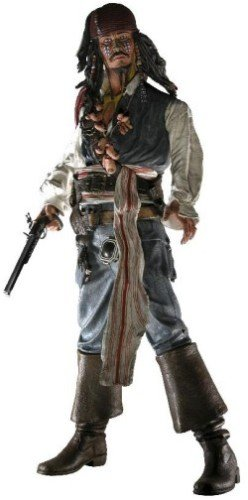 (Pirates of the Caribbean Cannibal Jack Sparrow with Sound by NECA)