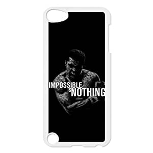 Boxing King Muhammad Ali Personalized Plastic Case for iPod touch 5th generation