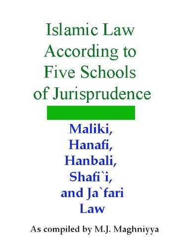 Islamic Law According To Five Schools Of Jurisprudence  English Edition