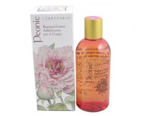 Peonie (Peony) Bath and Shower Gel by L'Erbolario - Flat Rate Shipping Time Priority