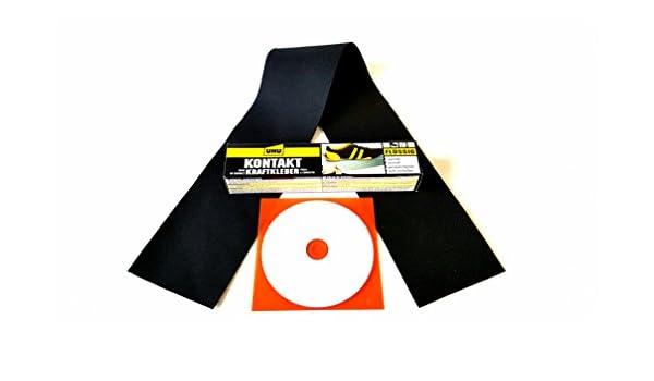 Juego completo incluye parches, pegamento, anleitungs CD Capotas flexibles Ferrari Capota Juego de reparación Accesorios para descapotable