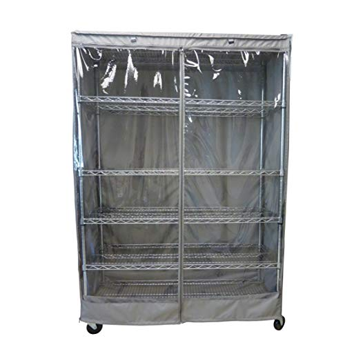 - Formosa Covers Storage Shelving Unit Cover, fits Racks 60