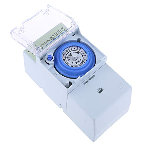 SM SunniMix Analogue Timer Switch - Control Lights, Heaters & Appliances, SUL181h Model ()