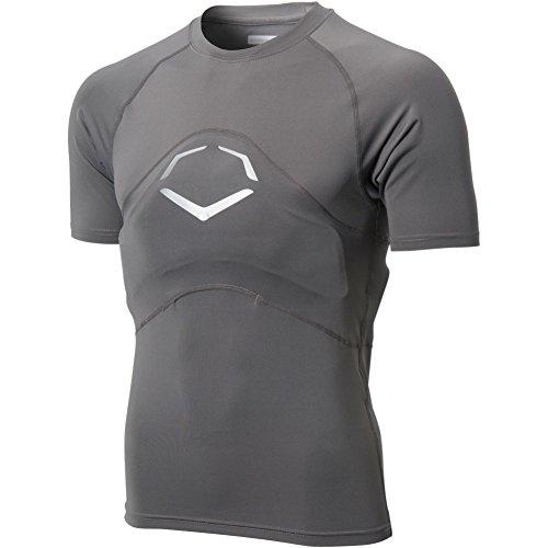EvoShield Men's GS2 Full Chest & Back Guard Shirt