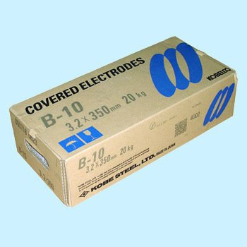 神戸製鋼 溶接棒 B-10 3.2Φ 1箱(5kg×4箱入り)
