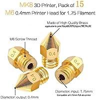 31 Piezas Kit de limpieza de boquillas de impresora 3D, Vibury 15 ...