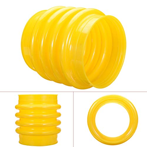 1Pcs Yellow Polyurethane Jumping Jack Bellows Boot, used for sale  Delivered anywhere in USA