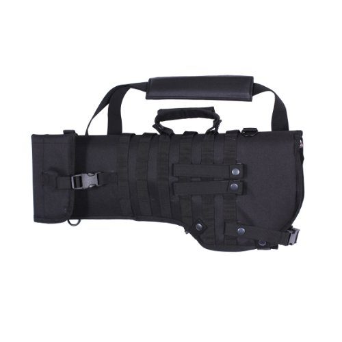 Rothco Tactical Rifle Scabbard, Black