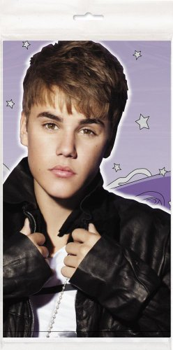 Justin Bieber Plastic Tablecloth, 84