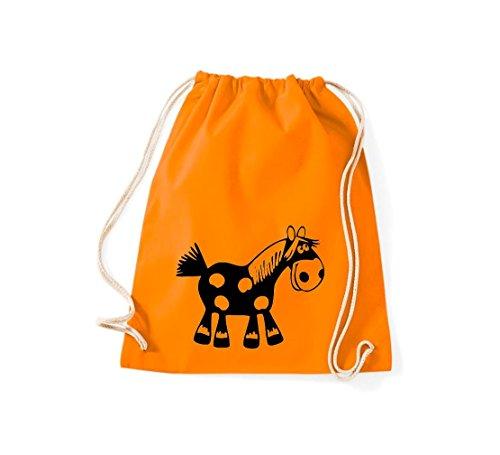 De Mujer Shirtstown Para Tela Algodón Bolso Naranja 5wxZZ4yAvq