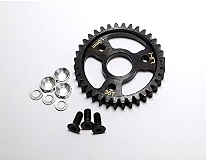 Hot Racing Steel Spur Gear 34T 1.0 Mod for Traxxas 1//10 Revo 3.3//Slayer Pro 4X4