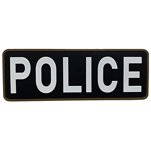 uuKen Large Police Patch 8 5