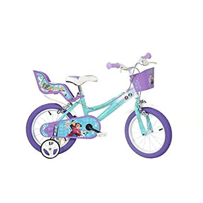 Image of Balance Bikes Dino Bikes 146RL-FZ 14-Inch Frozen Bicycle