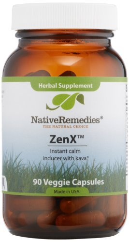 Native Remedies Stress Zenx, 90 Count by Native Remedies