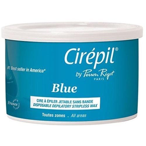 Amazon.com : Cera Azul Para Depilación Sin Tiras - Para Todo El Cuerpo E Incluso Áreas Sensibles Como La Zona Del Bikini - 14.11 Oz : Beauty