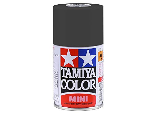 (Tamiya America, Inc TS-6 Matte Black Spray Lacquer, TAM85006)