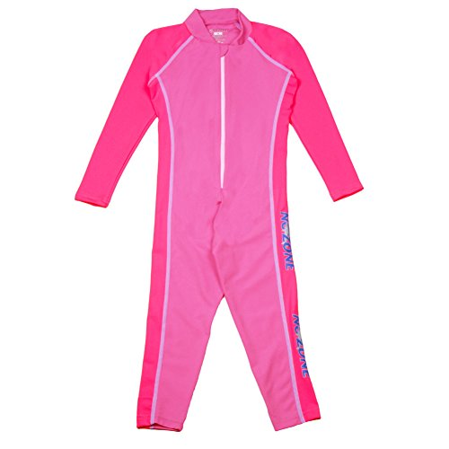 Nozone Stinger Children's Sun Protective Swimsuit in Bahama/Pink, - Canada Kids Wetsuits