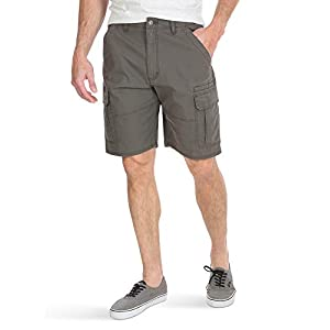 Wrangler Authentics Men's Big & Tall Classic Relaxed Fit Stretch Cargo Short