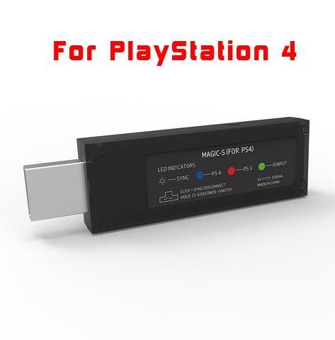 MAGIC-S Wireless Controller Adapter for PS4, PS3, PC, NeoGeo mini