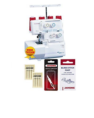Janome 204D MyLock Serger with Exclusive Bonus Bundle