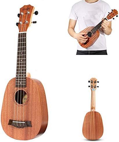 BAACHANG 26 pulgadas ukelele ukelele uklele Hawaiian peque/ña guitarra Acacia chapa de madera de gama alta solo