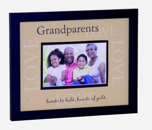 Grandparent Frame: Grandparents Heart of Gold Frame