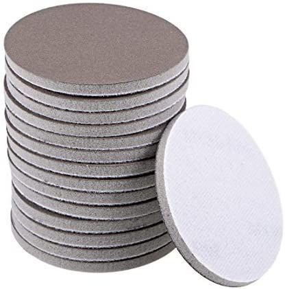 3-inch, 800-grained hook and loop sanding disc for automobiles/wood/drywall/metal 15 pieces