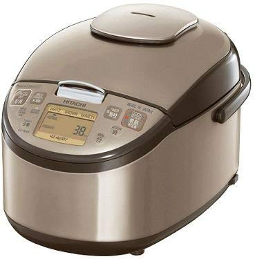 HITACHI Pressure IH Rice Cooker for Overseas (1.0L Type) RZ-KG10Y-N (GOLD) Overseas Model (AC220V~AC230V)【Ships from Japan】 ()