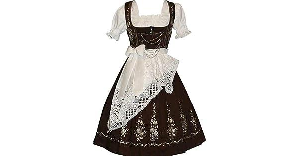 Amazon.com: Dirndl Trachten Haus 3-Piece largo German Wear ...