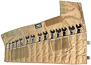 product image for Atlas 46 Wrench Roll Pouch - 14 Slot - Coyote Brown