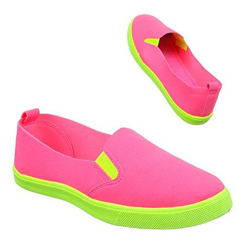 Ital-Design - Zapatos Mujer Rosa - rosa