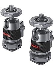 SMALLRIG Mini-kogelkop met Verwijderbare Koude Schoenbevestiging (Twee Stuks) - 2948