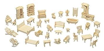 Quay Sistema de los Muebles artesanía en Madera Kit de construcción FSC