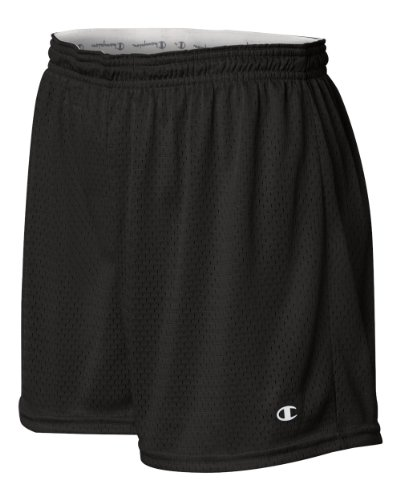 Champion CA33 Women Active Mesh Short - Black, 2XL