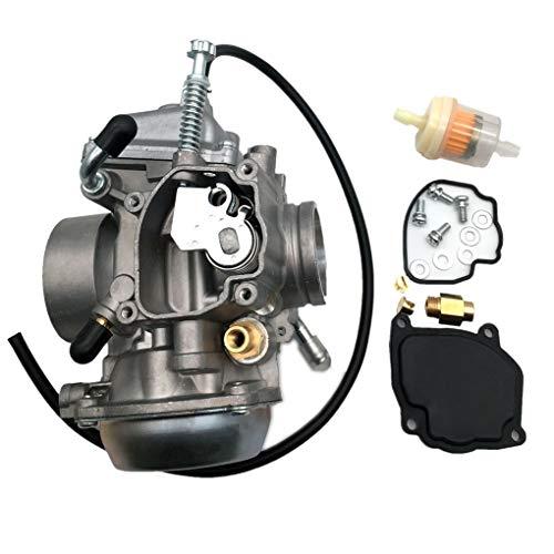 motorcycle engine accessories carburetor carb fuel filter set replacement  for suzuki king quad 300 ltf300f ltf4wdx