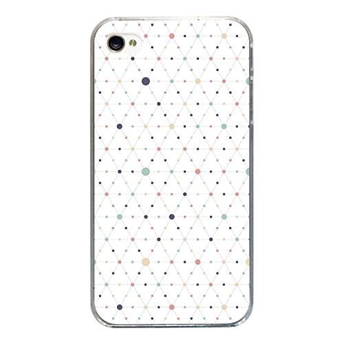 """Disagu SF-sdi-3814_1177#zub_cc2455 Design Schutzhülle für Apple iPhone 4 - Motiv """"Bunte Punkte 04"""""""
