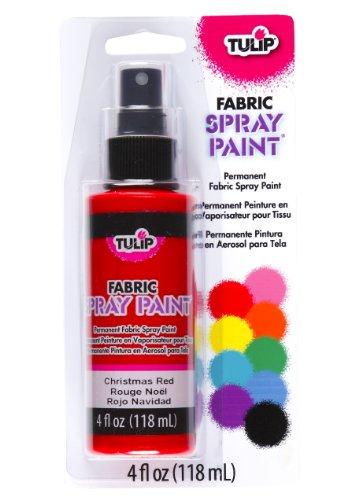 Tulip Fabric Spray Paint- Christmas Red