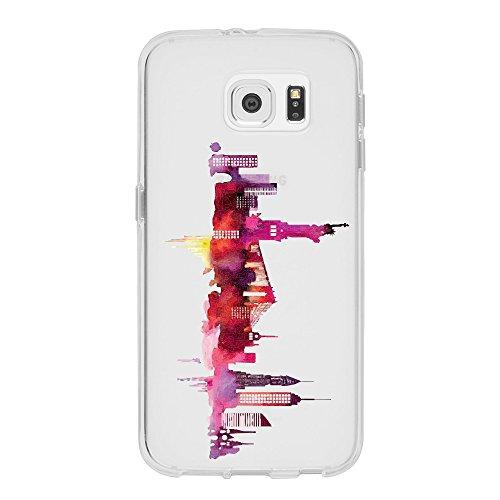 Samsung Galaxy S6 Edge Caso por licaso® para el patrón de Samsung Galaxy S6 Edge Bambi Ciervo Fábula TPU de silicona ultra-delgada proteger su Samsung Galaxy S6 Edge es elegante y cubierta regalo de c New York 1