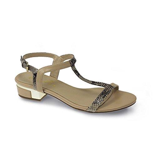 Lunar - Sandalias de vestir de Material Sintético para mujer beige beige Beige