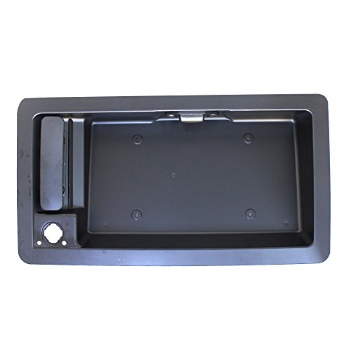 Titanium Plus 1992-2007 Ford Econoline Van | 2003-2007 Ford E450/E550 Cutaway Van Rear,Left,Right DOOR OUTER HANDLE WITH LICENES BRACKET (BIG ()